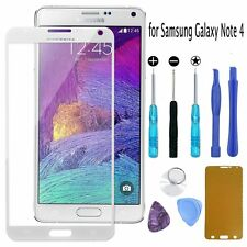 Outer Front Screen Glass Lens Replacement Repair Tools for Samsung Galaxy Note 4