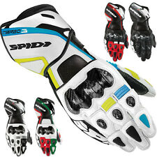Spidi Carbo-3 Mens Street Racing Riding Motorcycle Gloves