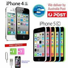 Apple iPhone 4s 5c 8GB 16GB 32GB Factory Unlocked Sim Free Mobile Smartphone AU