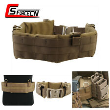EMERSON Molle Soft Padded Patrol Wait Belt Combat Tactical Airsoft Coyote Brown
