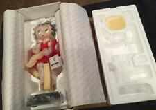 1997 DANBURRY MINT BETTY BOOP MARILYN MONROE RED DRESS TOAST OF TOWN  DOLL MIB