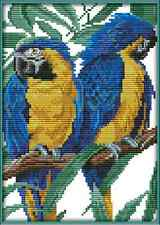 Kit broderie point de croix imprimé/compté,11CT/14CT,Cross Stitch Parrots