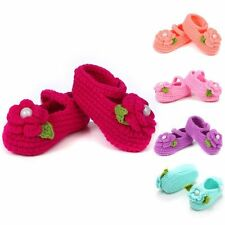 Booties 0-12M Infant Baby Newborn Prewalker Casual Girl Knit Crib Socks Shoes