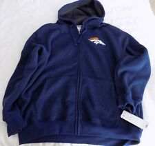 Denver Broncos G-III  Full Zip  Hooded Sweatshirt