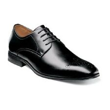 Florsheim Mens shoes Corbetta Perf Toe Oxford Black Leather Lace Up 14183-001
