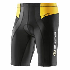 Skins TRI400 Mens Compression Shorts (Black/Yellow)