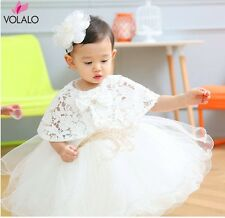 Infant Baby Girl Birthday Party Dresses Baptism Christening Easter Gown Toddler