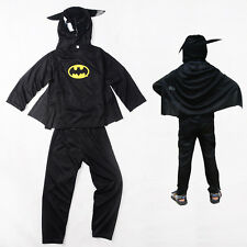 Halloween Child Cosplay Party gifts Hot kid batman outfit costume3-7Y/O105-125cm