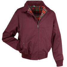 Brandit Lord Canterbury Jacket Harrington Design Mens Urban Casual Coat Bordeaux