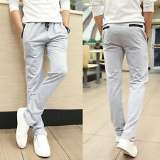 New Mens Luxury Casual Slim Fit Stylish Dress Pants Casual Summer Long Trousers