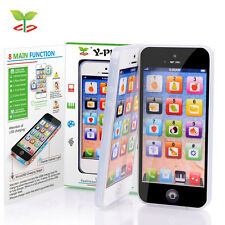 NEW Y-Phone Kids Children Baby Learning Study Toy Mobile Phone Educational + USB