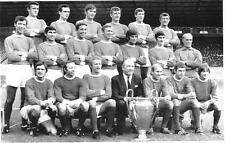 MANCHESTER UNITED EUROPEAN CUP WINNERS 1968 TEAM PHOTO PRINT.