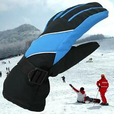 Men Women Outdoor Warm Winter Snow Ski Snowboard Gloves Waterproof Skiing Gloves