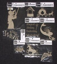 SCRAP FX Chipboard 'FAIRYTALES & PRINCESS' Embellishments (Choose from 13)