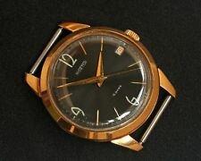 RARE VOSTOK 2214 18 JEWELS DATA SOVIET RUSSIAN USSR WATCHES GOLD PLATED AU20