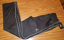 NWT $45 Jordan Boys Jumpman Athletic Track Pants Black/White  951103-023