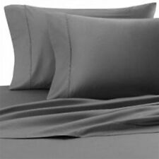 US Elephant Grey1000TC 100%EGYPTIAN COTTON BED ITEMS-SHEET SET/DUVET/FITTED