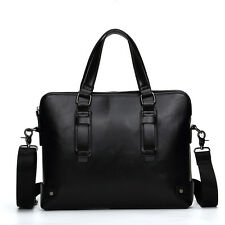 Mens Pu Leather Handbag Messenger Bags Shoulder Travel Business Briefcase Bag