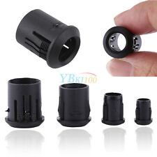 50Pcs 3mm 5mm 8mm 10mm Black Plastic LED Lamp Diode Holder Bulb Clip Display Cup