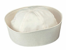 Rothco Navy Sailor White Hat Cap GI Military WW2 WWII Gob Dixie Cup Style 5521
