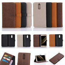 Wallet Leather Card Slot Holder Flip Folio Magnet Case Pouch For HUAWEI PHONE
