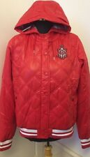 Womens Nike Ad Varisty Coat Lightweight Quilted Bomber Jacket Red Large A72