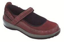 Chickasaw Orthofeet Women's Comfort Orthopedic Diabetic Stretch Mary Jane Shoes