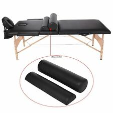 2 Fold Massage Table Portable Facial Bed W/ Sheet Bolsters Carry Case Adjustable