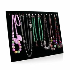 Necklace Jewelry Pendant Chain Show Display Holder Stand Neck Velvet Easel FY
