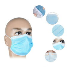 50 X  Disposable Medical Dustproof Surgical Face Mouth Masks Ear Loop New FY