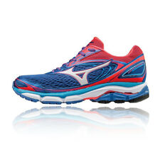 Mizuno Wave Inspire 13 Womens Blue Running Road Sports Shoes Trainers Pumps