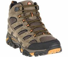 Merrell Mens Moab 2 Ventilator Mid Hiking Boots Walnut-J06045-NIB