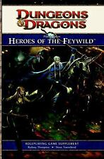 4th Edition D&d: Player's Option: Heroes of the Feywild : A 4th edition Dungeons