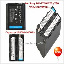 7.2V 4400MAH Replacement Li-Ion Battery for Sony NP-F750/770 /730/550/330/FW50..
