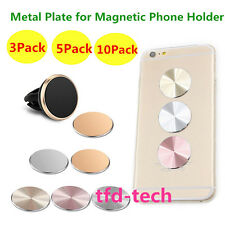 10/5X Wholesale Replacement Metal Plate Disc for Magnetic Phone GPS Mount Holder