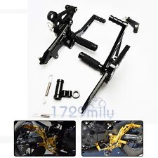 CNC Adjustable Rearset Foot Pegs For 2013-2017 2014 2016 HONDA Grom MSX 125