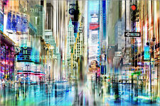 Poster / Canvas picture times square USA NYC New York Collage - City Collage