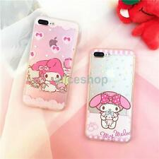 For iPhone 7 7 Plus 6 6S 5S Cute My Melody Hard Plastic Transclucent Case Cover