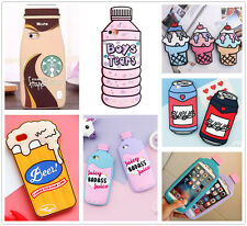 Cartoon Drinks Ice-cream Silicone Soft Case Cover For iPhone 7 6 6S Plus 5S SE