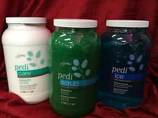GENA PEDICURE SOAK,SCRUB,ICE,PEDI-CARE.