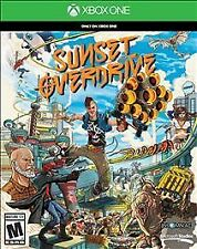 New Microsoft Xbox One Sunset Overdrive Video Game - Physical Blu-Ray DVD D1