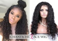 Best Curly Full Lace Wigs Human Hair Indian Remy Hair Wig For African Americans