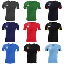 Canterbury Mens Challenge Short Sleeve Rugby Jersey Top