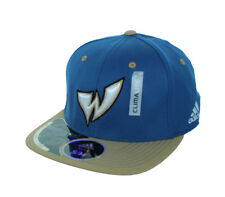 New! Washington Wizards Flex Fitted Hat Embroidered ClimaLite Cap  - Blue Gold