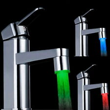 Universal LED Water Faucet Stream Light 7 Colors Changing Glow Shower Stream LJ