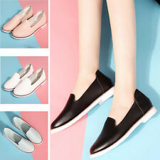2017 Womens Comfy Soft Casual Walking Work Flats Shoes Loafers Moccasins Oxfords