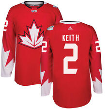 #2 DUNCAN KEITH Team Canada adidas World Cup of Hockey 2016 Premier Jersey