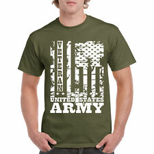 T Shirt Veteran S United States Tee Army Military Flag Navy Soldier Gift New Air