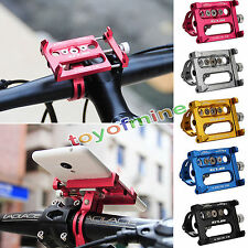 Metal Bike Bicycle/Motorcycle Handle Phone Mount Holder For Smart Cell Phone GPS
