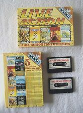 35354 Live Action - 5 All-Action Computer Hits - Sinclair Spectrum 48K Game (198